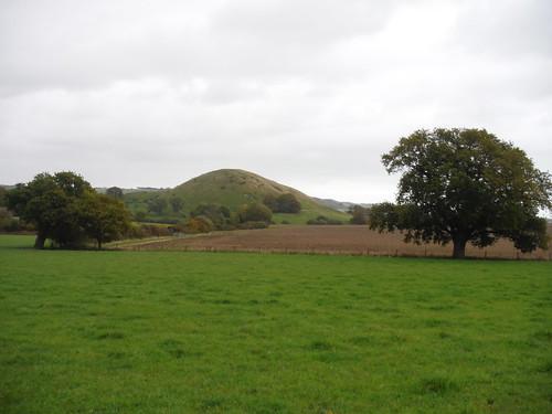 Summerhouse Hill across field