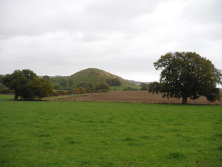 Summerhouse Hill across field