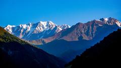 Shkara  5203m, Wakhushti 4000m, Nuam Kuam from Tsana
