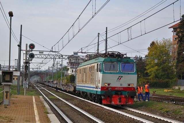 E652.136 Mercitalia Rail MRV 50527 Torino Orbassano F.A. - Fossacesia