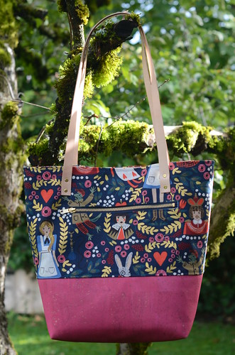 Level Two Tote by Poppyprint