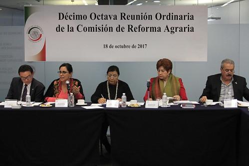 Comisión de Reforma Agraria 18/oct/17