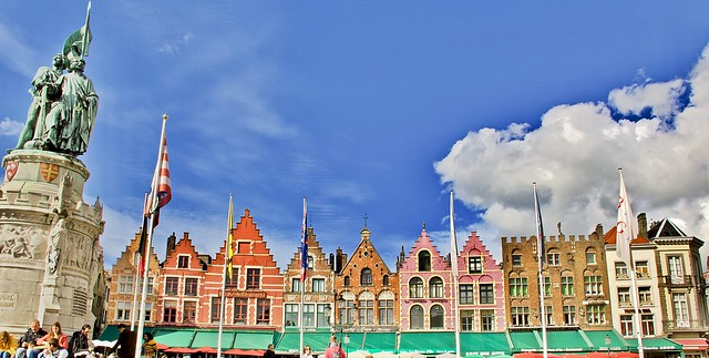 The colorful city of Bruges