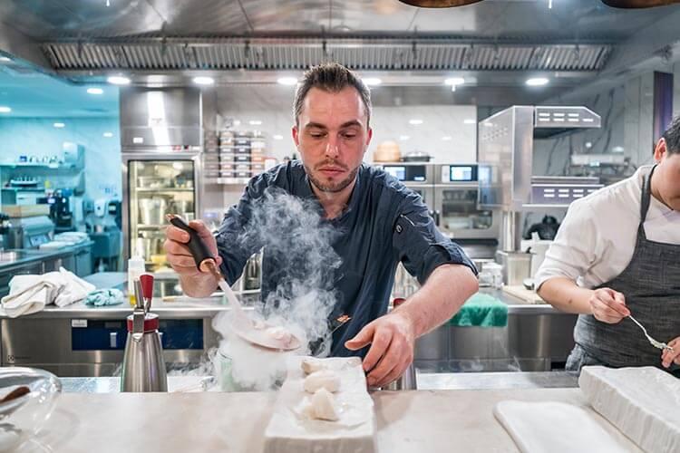 Chef Benjamin Halat