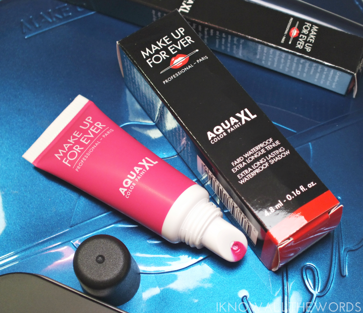 make up for ever aqua xl colour paint m82 fuschia
