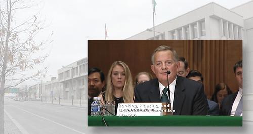 David Ryder at confirmation hearing