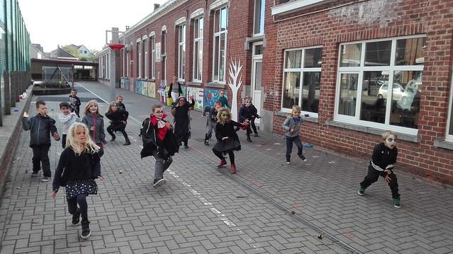 27 oktober Halloween op school
