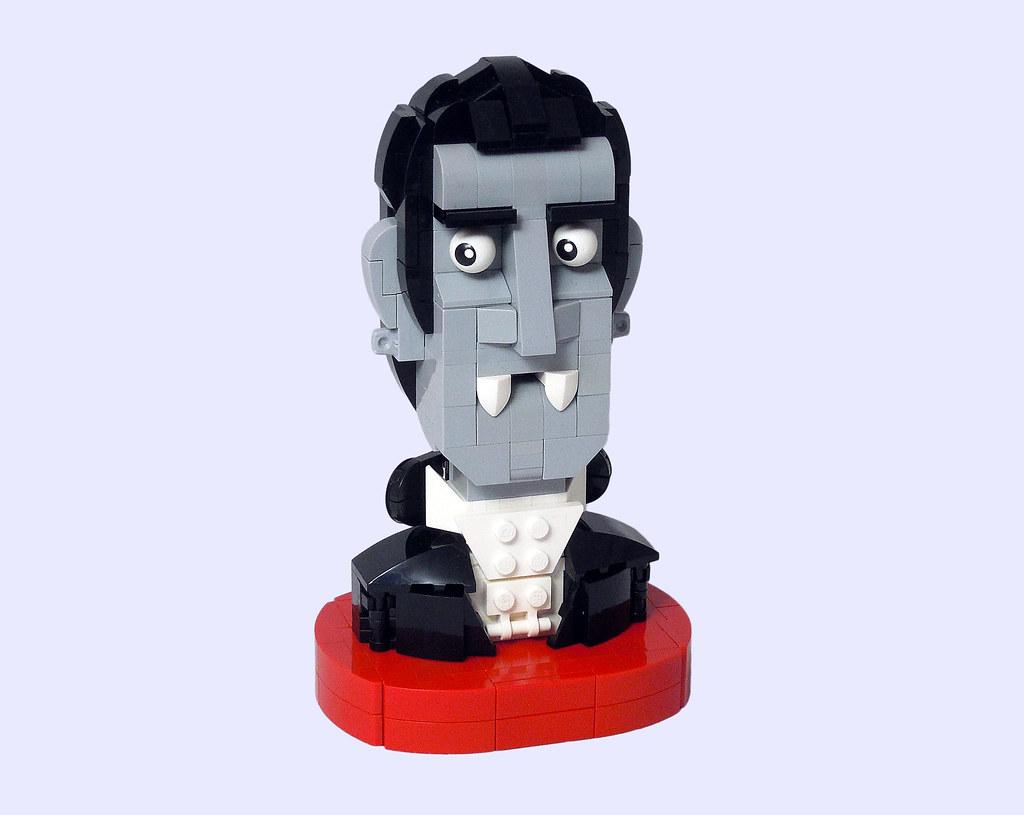 LEGO® MOC by Vitreolum: Dracula Bust
