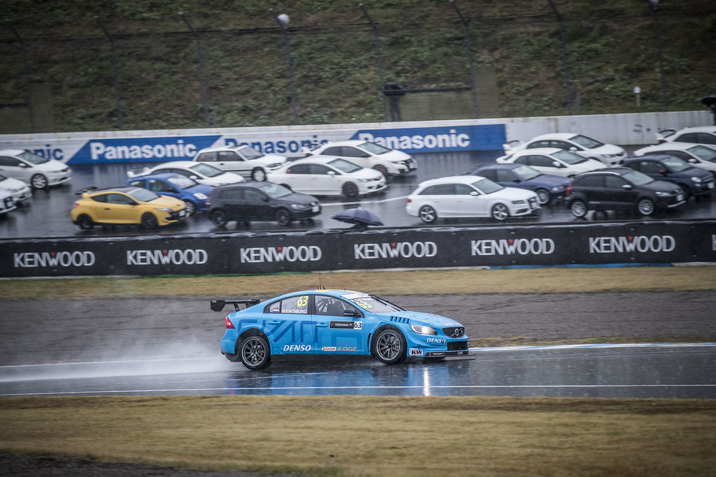 63 CATSBURG Nicky (ned) Volvo S60 Polestar team Polestar Cyan Racing action during the 2017 FIA WTCC World Touring Car Championship race at Motegi from october 27 to 29, Japan - Photo Gregory Lenormand / DPPI