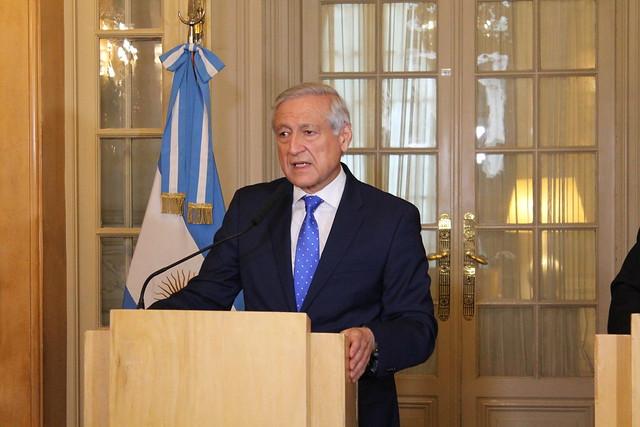 Firma acuerdo comercial Chile - Argentina