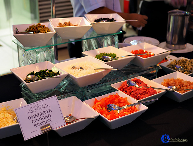 omelette station hizons catering
