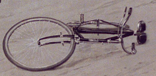 "1897 bicycle illustration ""What Happened?"" detail"