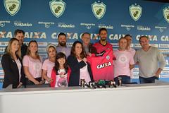 02-10-2017: Lançamento Camisa Outubro Rosa | Treino
