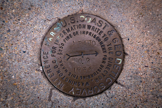 Abajo Peak Benchmark 1936
