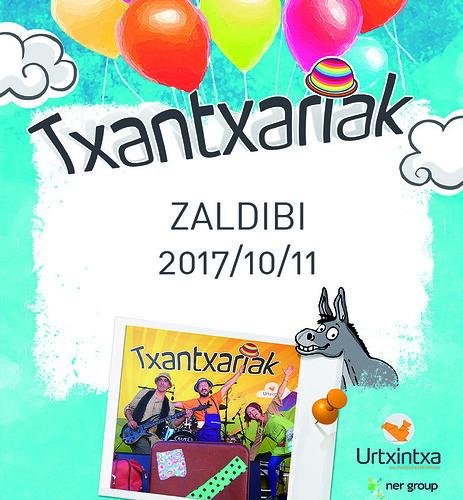 Txantxariak Zaldibin- 2017/10/11