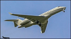 LX-ZED LX-ZED Bombardier BD700 Global Express XRS c/n 9349 Elderberry Ltd/Global Jet Luxembourg SA (EGLF) 24/09/2017