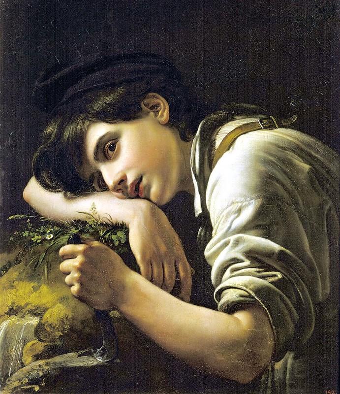 Orest Adamóvich Kiprenski - Jardiner (1817)