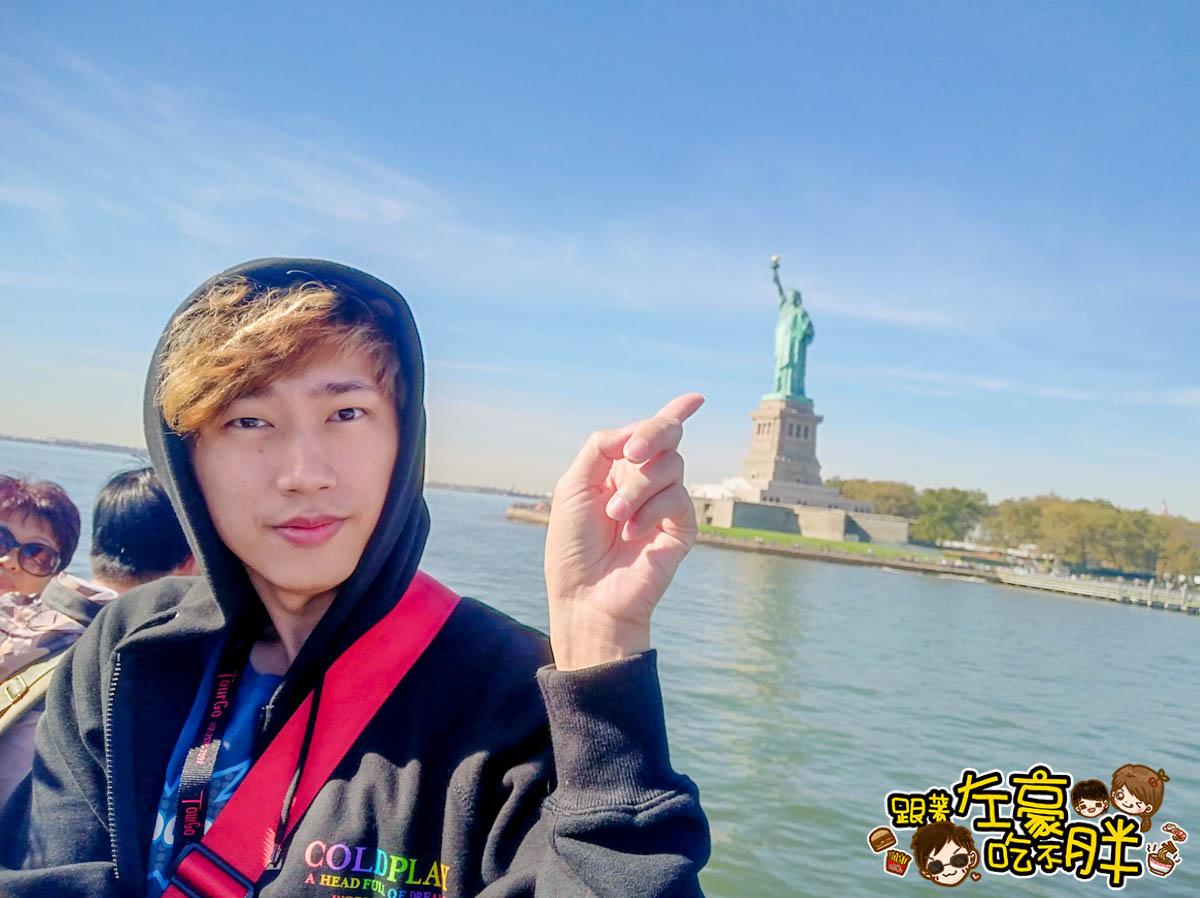 美國紐約遊船觀賞自由女神像2