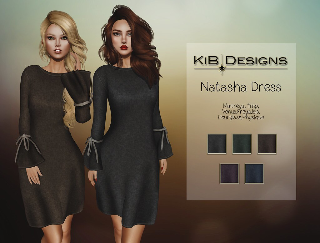 KiB Designs - Natasha Dress @Le Six Event - TeleportHub.com Live!