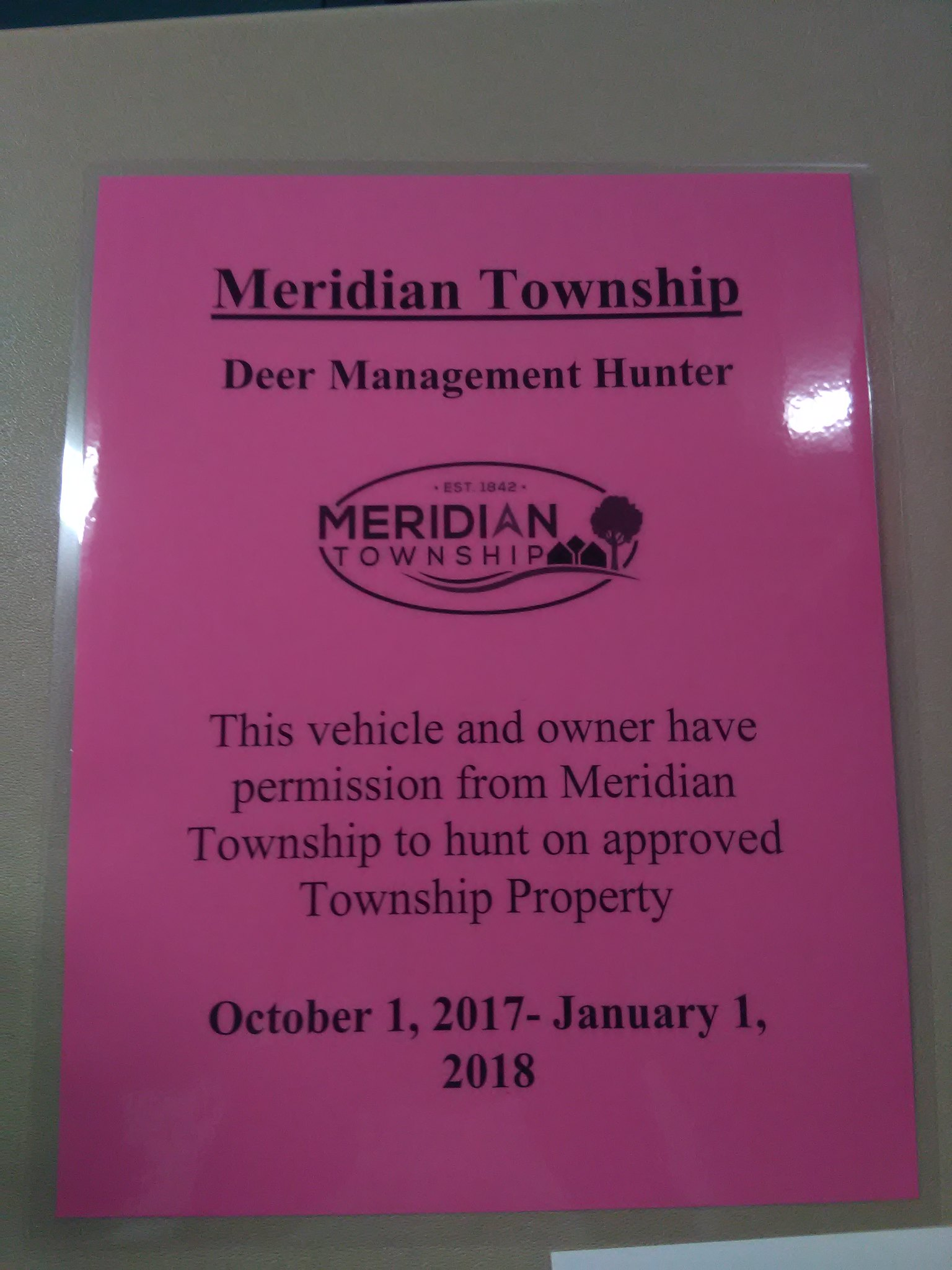 Members attend Meridian Township Deer Control Archery Workshop