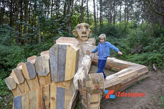 Truy tìm những bức tượng khổng lồ tại Đan Mạch