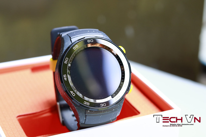 Huawei Watch 2 Sport Concrete Grey 06