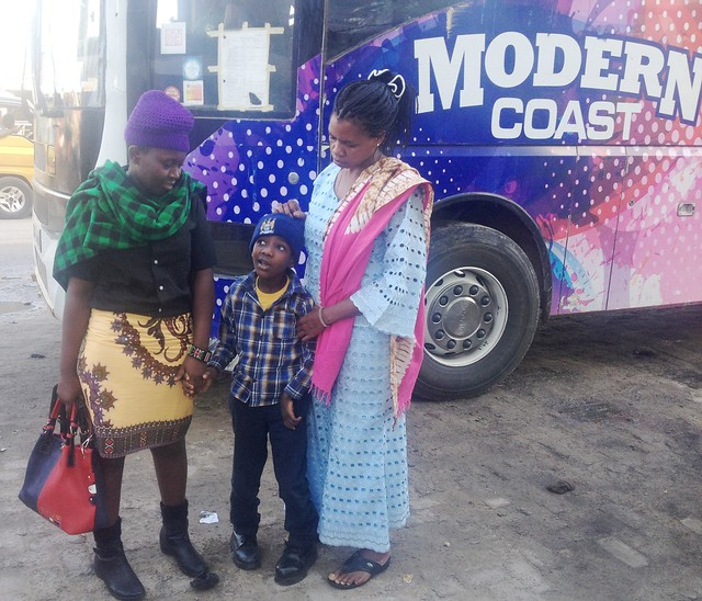 Winfred, Kevoo & Mama Mapenzi prepare for the long journey