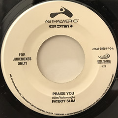 FATBOY SLIM:PRAISE YOU(LABEL SIDE-A)