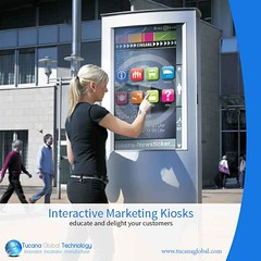 #Interactive #Marketing #Kiosks help to #educate and #delight your #customers while providing #easy #access to all your #digital #content. #TucanaGlobalTechnology #Manufacturer #HongKong