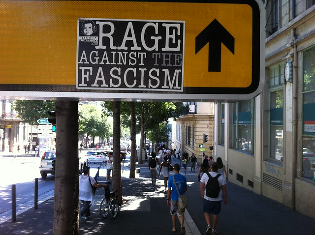 rage against the fascism