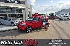 #HappyBirthday to carmen from Antonio Page at Westside Kia!