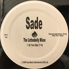 SADE:THE COTTONBELLY MIXES(LABEL SIDE-A)