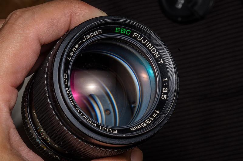 EBC初體驗 Fujinon-T 135mm f3.5