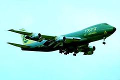 OD-AGC   Boeing 747-123 (20391) (Trans Mediterranean Airways) Heathrow~G 20/07/1976