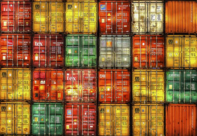 Freight Containers, La Spezia, Italy [Explored 04/10/2017 #385]