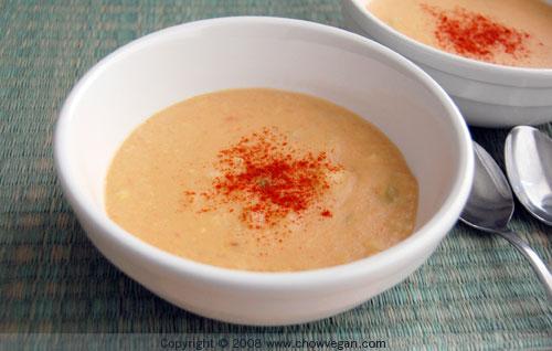Vegan Corn Chowder | Chow Vegan