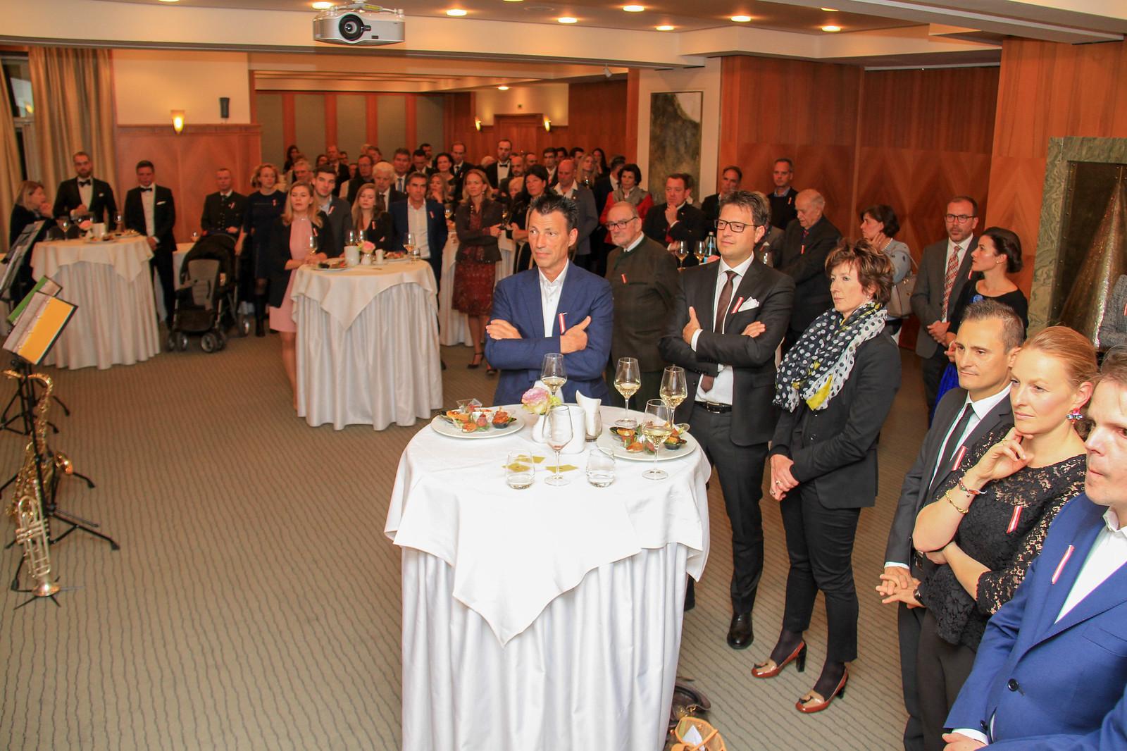 Empfang zum Österreichischen Nationalfeiertag, 26.10.2017 Hotel Laurin in Bozen