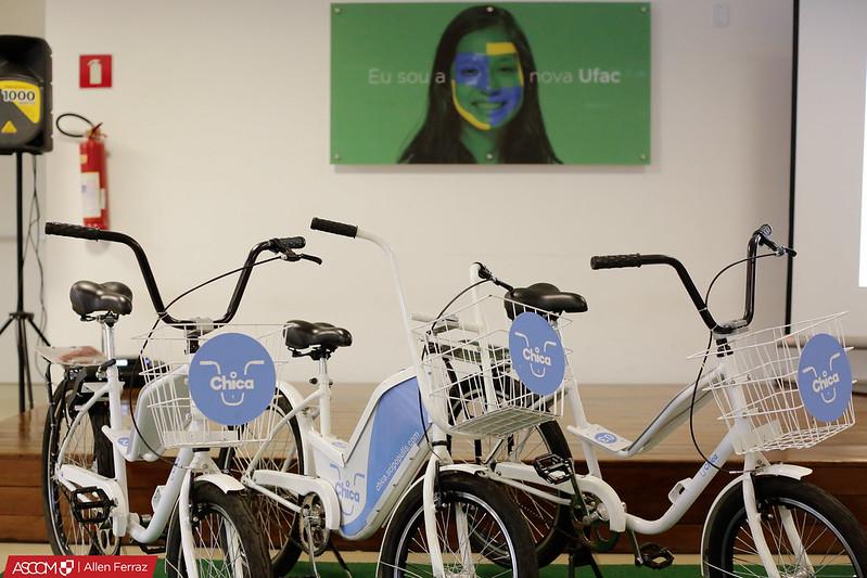 Lançamento da Bicicleta Chica