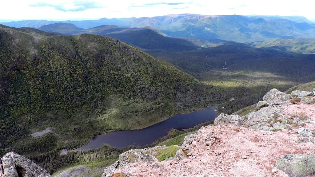 Lac aux Américains et Mont Albert
