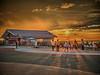 Photo:夕焼けを見ている V By jun560