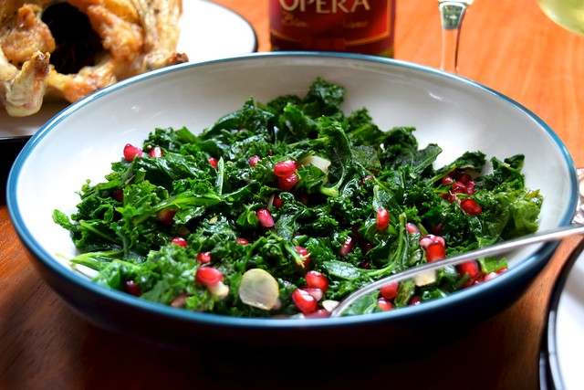 Majestic Spiced Kale & Pomegranate from Abel & Cole How To Eat Brilliantly Everyday | www.rachelphipps.com @rachelphipps