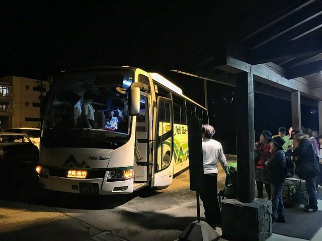 乗鞍岳 ほおのき平 駐車場 シャトルバス