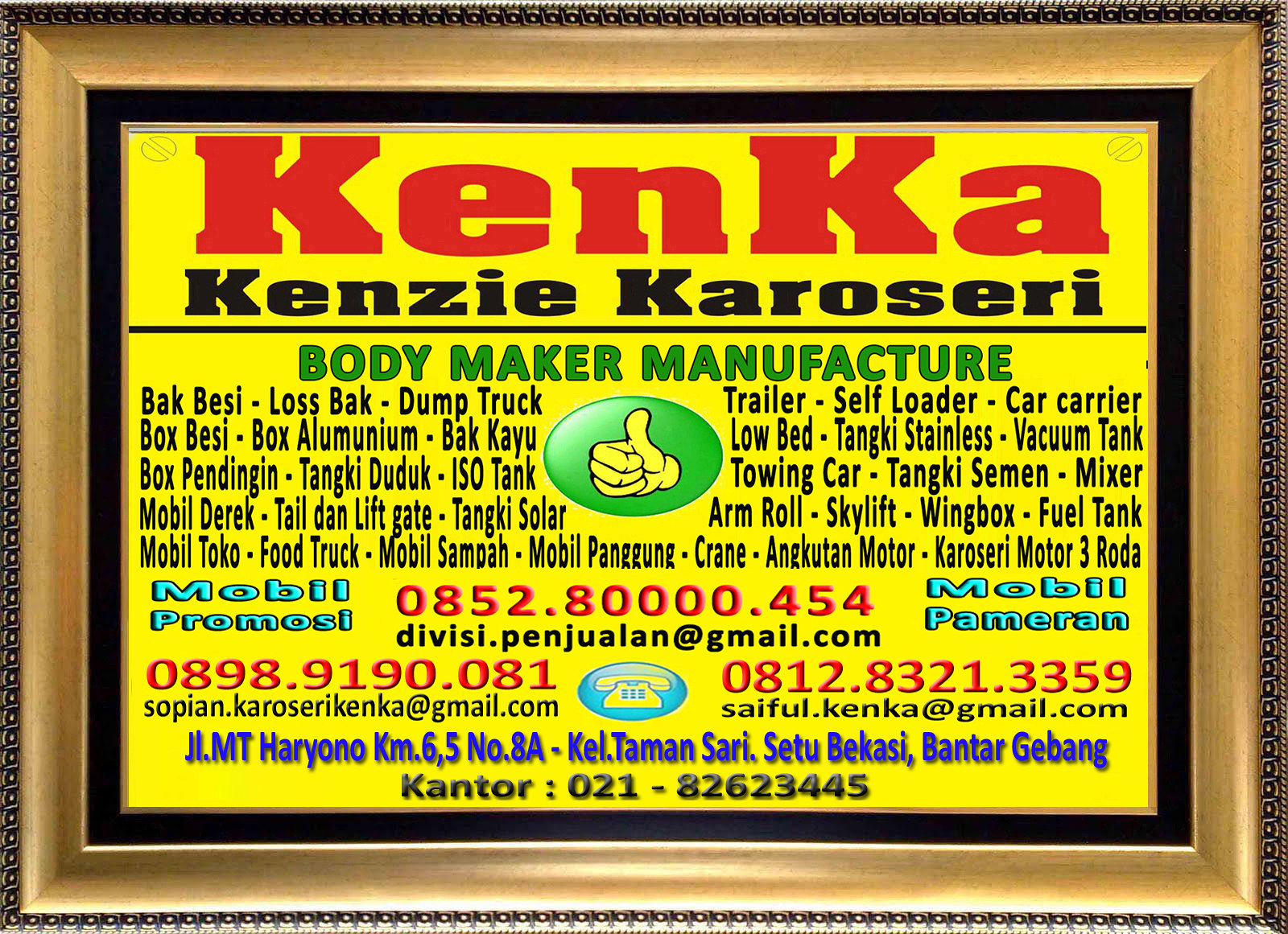 Logo KenKa - Thamrin - Sopian - Saiful