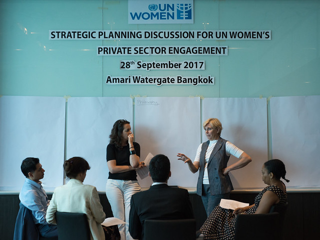 Strategic Planning Discussion for UN Women's Private Sector Engagement