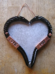 Martin Horse Head Heart picture Frame 17-10-2017