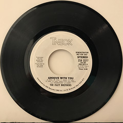 THE ISLEY BROTHERS:GROOVE WITH YOU(RECORD SIDE-B)
