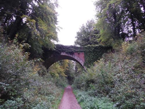 Roadbridge over Meon Valley Trail