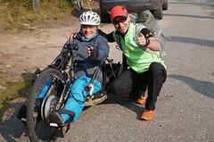 Běhá a pomáhá paraplegikům. René Kujan přeběhl republiku a vybral statisíce