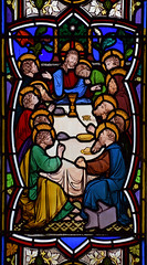 Last Supper (Heaton, Butler & Bayne, 1860s)