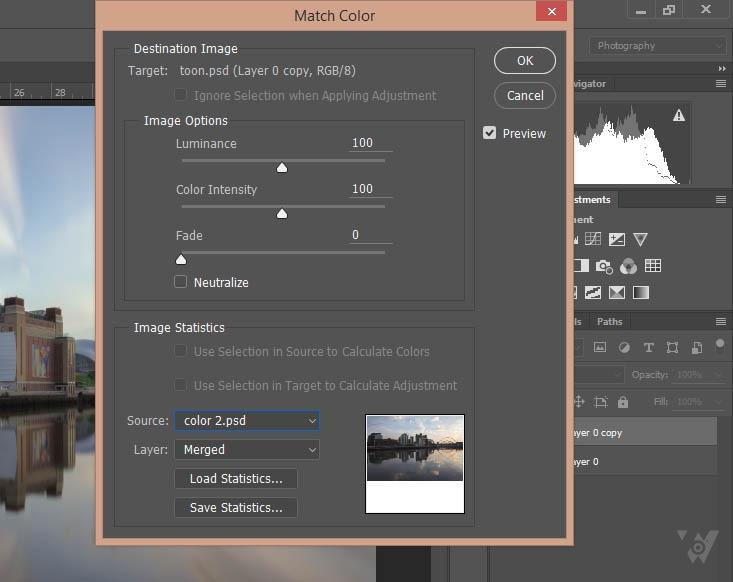 5 phương pháp đưa ảnh về màu gốc trong Photoshop